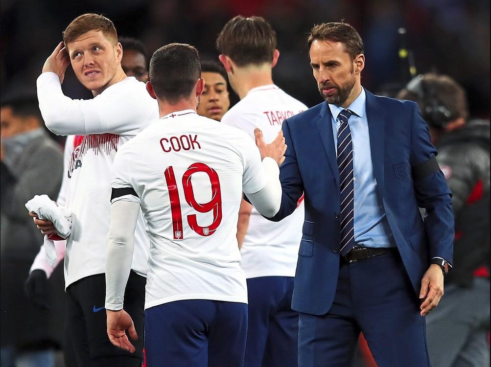 Pujian Southgate terhadap pemain Muda Inggris
