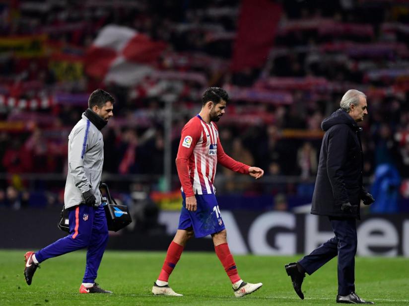 Atletico Madrid Mengumumumkan Costa akan Absen karena Menjalani Operasi