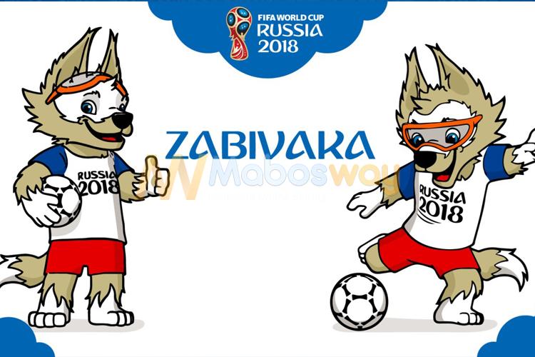 Maskot piala dunia rusia 2018